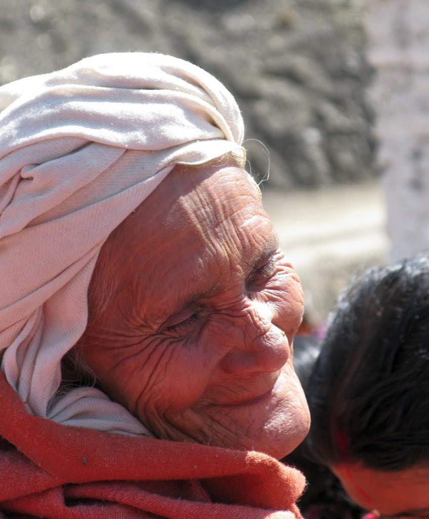 Femeie dupa vizita la templu