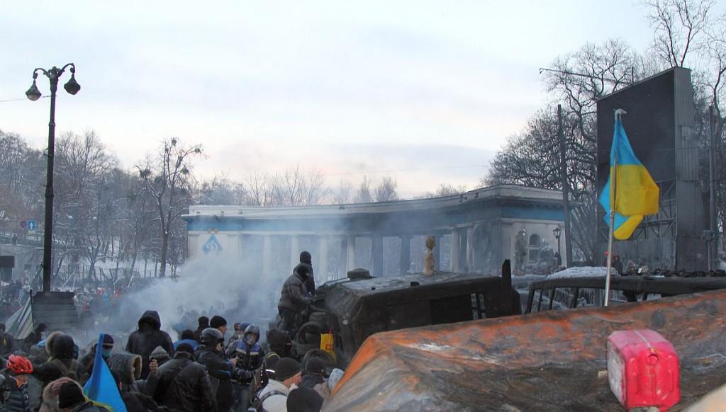 Baricada in Kiev